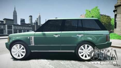 Range Rover Supercharged v1.0 pour GTA 4 est une gauche