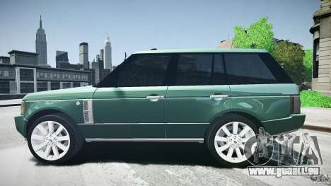 Range Rover Supercharged v1.0 für GTA 4 linke Ansicht