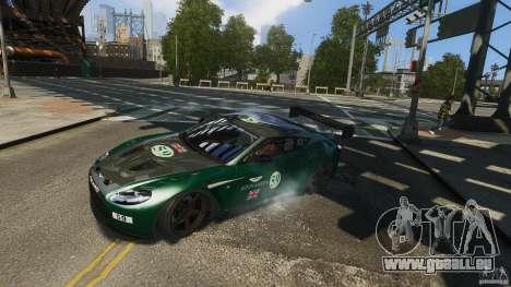 Aston Martin V12 Zagato 2012 pour GTA 4 est un droit