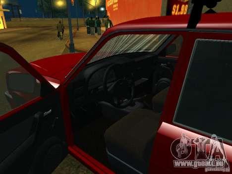 GAZ 3110 für GTA San Andreas Rückansicht
