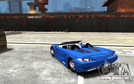 K1 Attack Concept für GTA 4 hinten links Ansicht