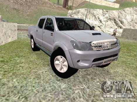 Toyota Hilux für GTA San Andreas