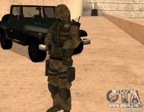 Ranger Army Skin Mod für GTA San Andreas dritten Screenshot