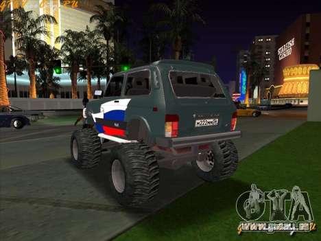 VAZ-21213 4x4 Monster pour GTA San Andreas laissé vue