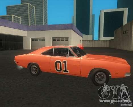 Dodge Charger für GTA San Andreas rechten Ansicht