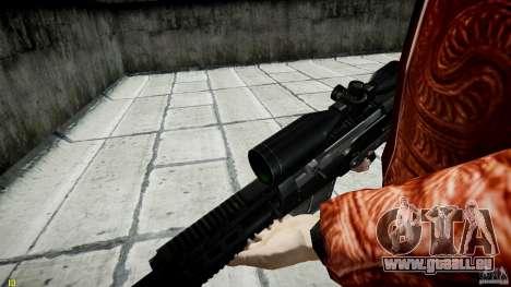 Accuracy International AS50 für GTA 4 achten Screenshot