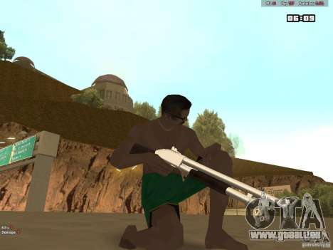 Weapon Pack V1.0 für GTA San Andreas zweiten Screenshot