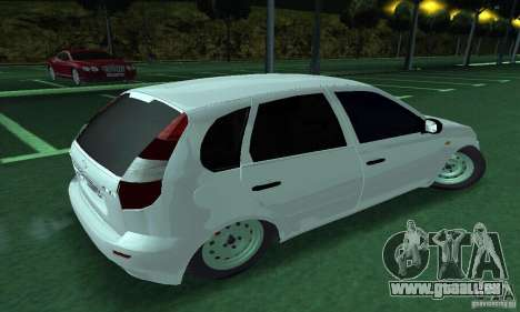 Lada Kalina Hatchback pour GTA San Andreas laissé vue