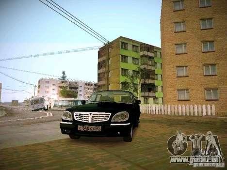 GAZ Volga 31105 S60 pour GTA San Andreas vue arrière
