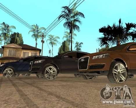 Audi Q7 4.2 FSI für GTA San Andreas linke Ansicht