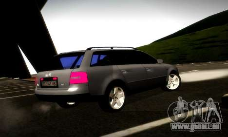 Audi A6 C5 Avant 3.0 pour GTA San Andreas vue de droite