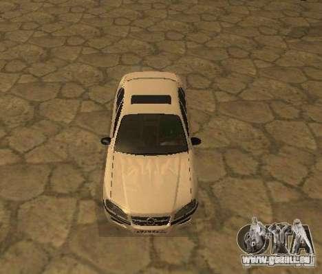 Opel Omega B 1997 pour GTA San Andreas laissé vue