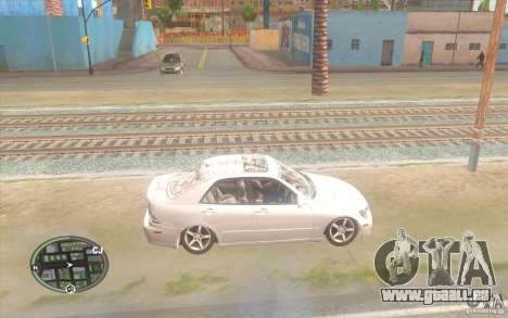 Lexus IS300 Light Tuning für GTA San Andreas linke Ansicht