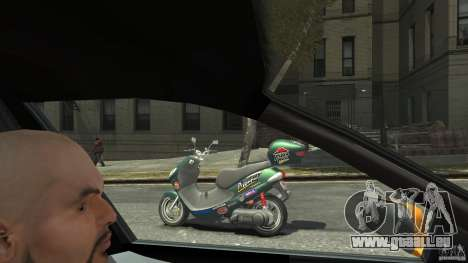 Suzuki Address 110 für GTA 4 linke Ansicht