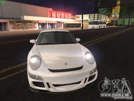 Porsche 911 GT3 pour GTA San Andreas sur la vue arrière gauche