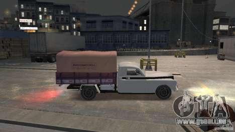GAZ M20 Pickup für GTA 4 linke Ansicht
