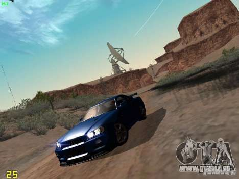 Nissan Skyline GT-R R34 V-Spec pour GTA San Andreas