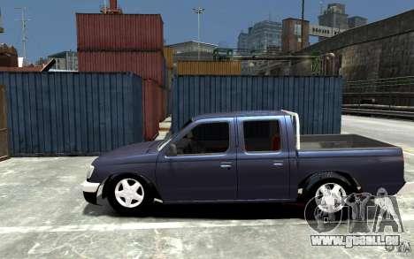 Nissan Pickup V 2005 pour GTA 4 est une gauche