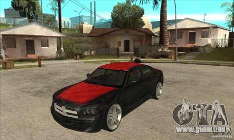 Dodge Charger R/T 2006 pour GTA San Andreas vue de côté