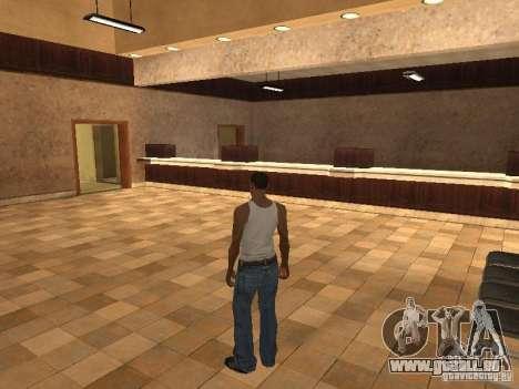 L'entrée à l'hôpital de Los Santos pour GTA San Andreas deuxième écran