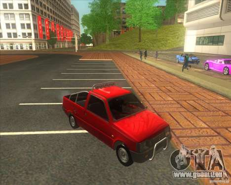 Serpuchowski Awtomobilny SAWOD Oka Pickup für GTA San Andreas rechten Ansicht