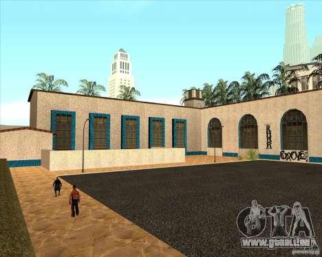 Nouvelle Station de l'unité pour GTA San Andreas troisième écran