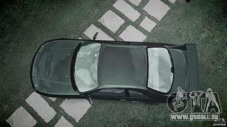 Nissan Skyline R33 pour GTA 4 vue de dessus