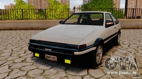 Toyota Sprinter Trueno GT 1985 Apex [EPM] pour GTA 4