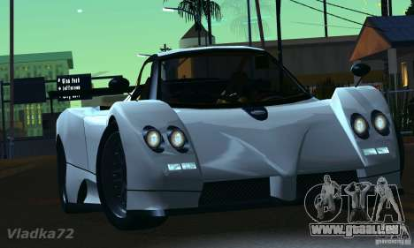 Pagani Zonda EX-R für GTA San Andreas