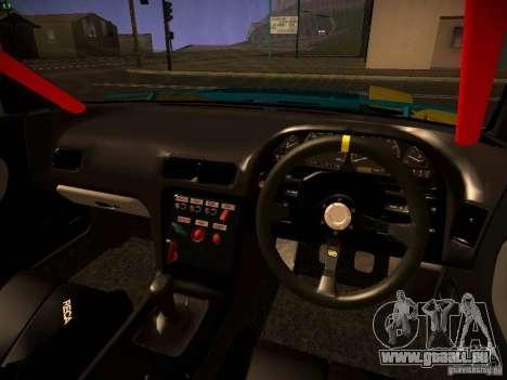Nissan Onevia 2JZ für GTA San Andreas Rückansicht