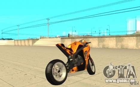 DoubleT Custom pour GTA San Andreas sur la vue arrière gauche
