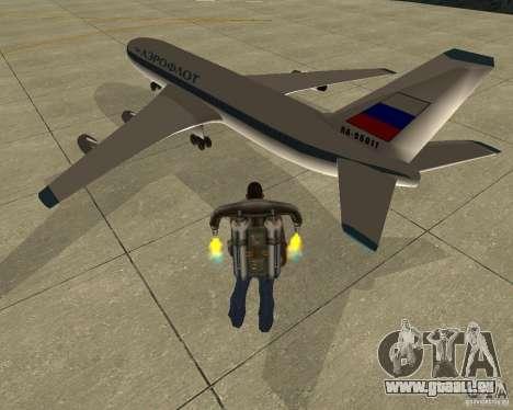 Iliouchine Il-86 pour GTA San Andreas laissé vue