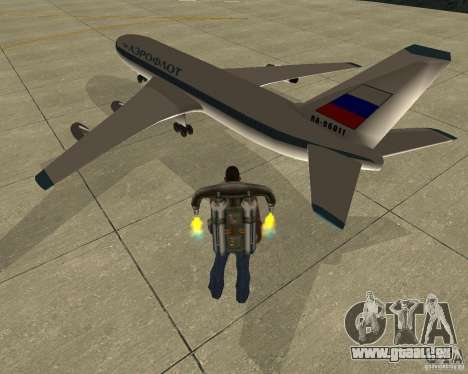 Iljuschin Il-86 für GTA San Andreas linke Ansicht