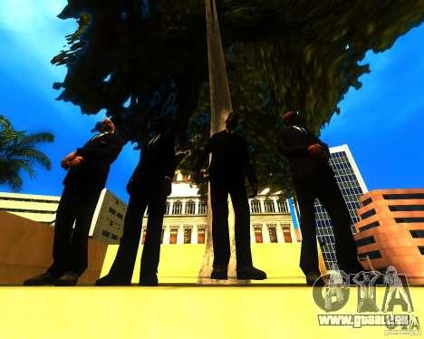 Appel du maire aux habitants de l'état de pour GTA San Andreas deuxième écran