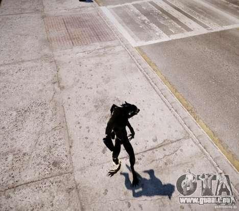 Werewolf from Skyrim für GTA 4 achten Screenshot
