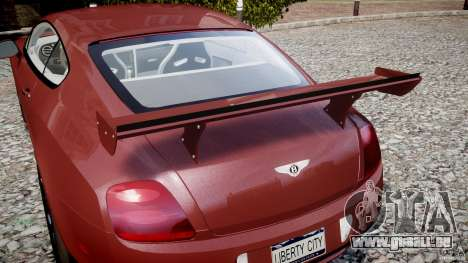 Bentley Continental SS v2.1 für GTA 4 Innen