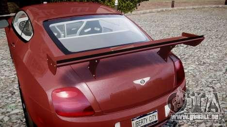 Bentley Continental SS v2.1 pour GTA 4 Salon
