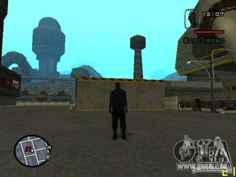 CJ des unsichtbaren Mannes für GTA San Andreas zweiten Screenshot
