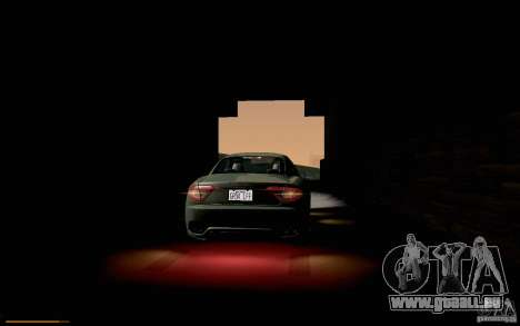 Maserati Gran Turismo 2008 pour GTA San Andreas vue de côté
