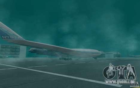 Boeing 797 BWB pour GTA San Andreas laissé vue