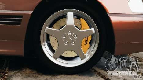 Mercedes-Benz SL 500 AMG 1995 [Final] für GTA 4 Unteransicht
