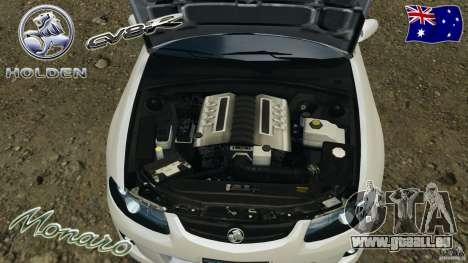 Holden Monaro CV8-R pour GTA 4 est un côté