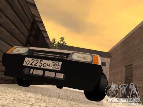VAZ 2108 Taxi pour GTA San Andreas vue de droite