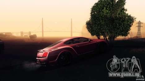 Bentley Continental GT Premier4509 2008 Final pour GTA San Andreas moteur