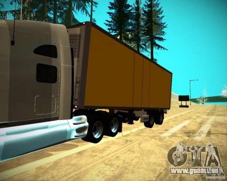 Der Trailer-Krone-Biedra für GTA San Andreas rechten Ansicht