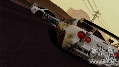 SA Beautiful Realistic Graphics 1.4 für GTA San Andreas fünften Screenshot