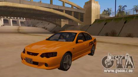 Ford Falcon XR8 2008 Tunable V1.0 pour GTA San Andreas