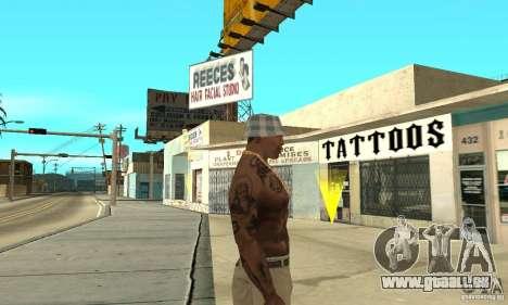 Tattoo mod für GTA San Andreas dritten Screenshot