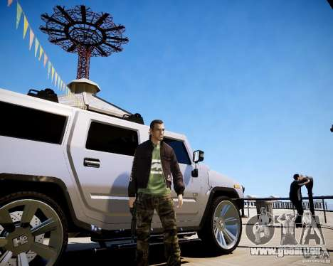 CoD Black Ops Hudson für GTA 4 sechsten Screenshot