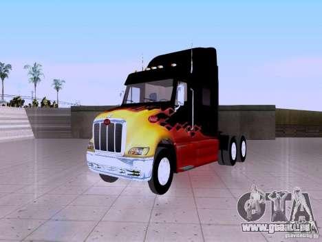 Peterbilt 387 für GTA San Andreas Rückansicht